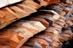 pointed wood